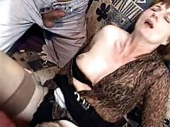 Horny matured brunette in heavy sex pumping erotica