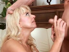 Super freak merilyn gets skull fucked real good