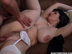 Big tits British babe Josephine James cunt pounded with cock